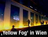 "Installation ""Yellow fog"""
