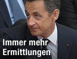 Nicolas Sarkozy, französischer Staatspräsident
