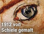 """Details von """"Bildnis Wally"""" von Egon Schiele"""