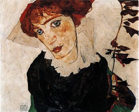 """""""Bildnis Wally"""" von Egon Schiele"""