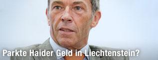Der verstorbene Kärntner Landeshauptmann Jörg Haider