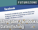 Screenshot der Webseite facebook.com