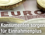 Nahaufnahme eines 50-Euroscheins