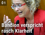 Justizministerin Claudia Bandion-Ortner