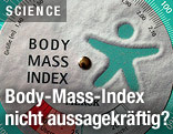 Tabelle für Body-Mass-Index