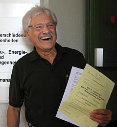Heribert Rahdjian, grüner Bezirksvorsteher der Josefstadt