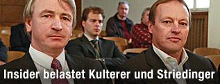 Wolfgang Kulterer und Günter Striedinger