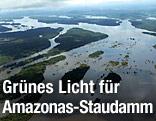 Luftaufnahme vom Xingu river