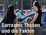 Frauen mit und ohne Burka