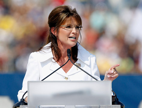 Die frühere republikanische Vizepräsidentschaftskandidatin Sarah Palin