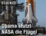 NASA Weltraumrakete beim Start