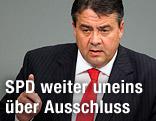 SPD-Vorsitzender Sigmar Gabriel