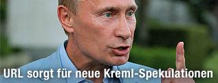 Der russische Regierungschef Wladimir Putin