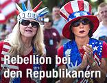 Anhänger der Tea-Party-Bewegung