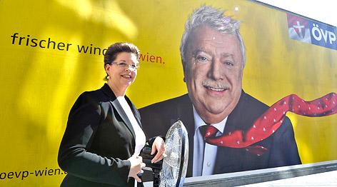 Wahlplakat der ÖVP Wien