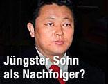 King Jong Il mit Sohn Kim Jong Un