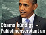 US-Präsident Obama bei Rede