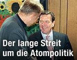 Gerhard Schröder und Jürgen Trittin