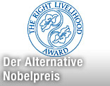 Logo des Alternativen Nobelpreises