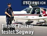 Polizist mit Segway