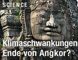 Großer Steinkopf im Tempel Bayon von Angkor Wat