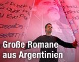 """Installation zum Thema """"Argentinien"""" auf der Frankfurter Buchmesse"""