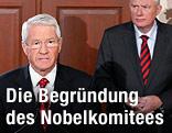 Thorbjoern Jagland, Vorsitzender des Nobel-Komitees