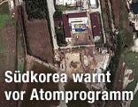 Satelitenbild des nordkoreanischen Atomzentrum Yongbyon