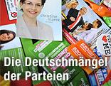 Wahlwerbung der Parteien für die Wien-Wahl