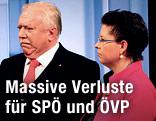 Michael Häupl (SPÖ) und Christine Marek (ÖVP)