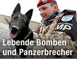 Militärhund der deutschen Bundeswehr