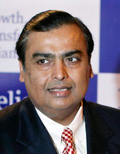 Millionär Mukesh Ambani