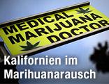 """Straßenschild """"Medical Marijuana Doctor"""" in Los Angeles"""
