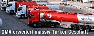 Tankwagen von Petrol Ofisi