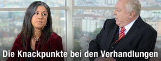 Grünen-Chefin Vassilakou und Bürgermeister Häupl (SPÖ)