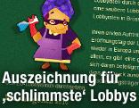 Screenshot mit Logo von www.worstlobby.eu