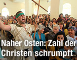 Christen-Messe in Bagdad