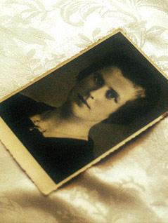 Eines der letzten Bilder von Maria Peskoller