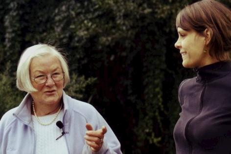 Jenny Gand zusammen mit Helga Emperger