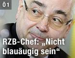 Walter Rothensteiner, Vorstandschef der Raiffeisen Zentralbank