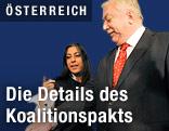 Wiens Grünen-Chefin Maria Vassilakou und Bürgermeister Michael Häupl