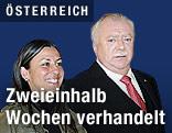 Wiener Bürgermeister Michael Häupl und Wiens Grünen-Chefin Maria Vassilakou