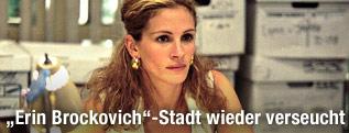 """Schauspielerin Julia Roberts im Film """"Erin Brockovich"""""""