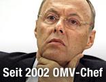 OMV-Chef Wolfgang Ruttenstorfer
