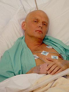 Ex-russischer Geheimdienstler Alexander Litwinenko