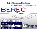 Screenshot BEREC Website