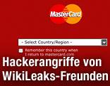 Internetportal von Mastercard