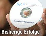 """CD mit der Aufschrift """"Operation Geisterwald"""""""