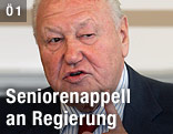 Karl Blecha vom SPÖ-Pensionistenverband