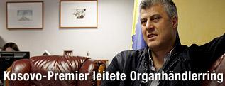 Kosovos Regierungschef Hashim Thaci